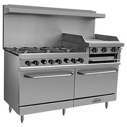 commercial kitchen equipments, commercial burner range